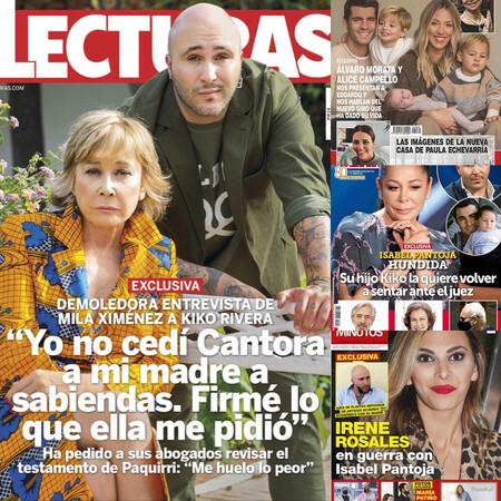 Kiko Rivera estalla contra su madre, tiemblan los cimientos de Cantora y Álvaro Morata nos presenta a su familia: estas son las portadas de la semana del 4 de noviembre