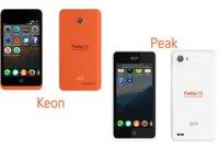 GeeksPhone Keon y Peak, los dos nuevos teléfonos Firefox OS para desarrollo