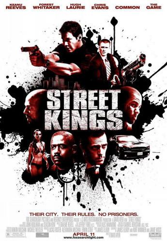 Póster de 'Street Kings', con Keanu Reeves