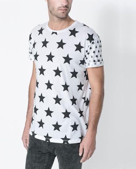 Camiseta estrellas ZARA