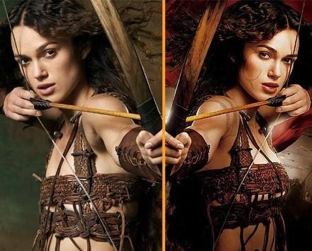 Keira Knightley ¿criticaba el Photoshoping?