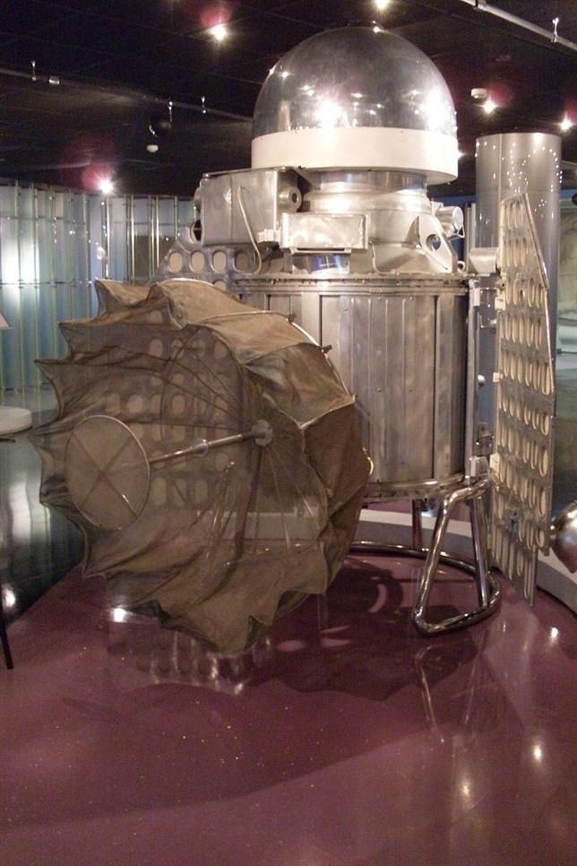 Ésta es la primera nave que sobrevoló otro planeta, hace 56 años
