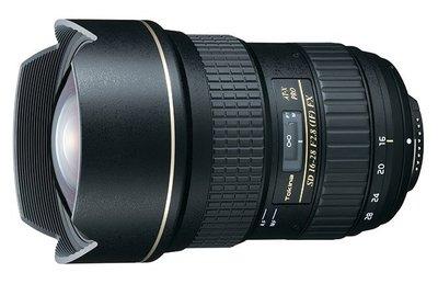 Nuevo objetivo Tokina AT-X 16-28 F2.8 PRO FX
