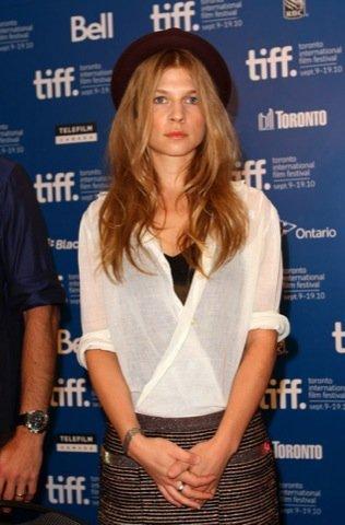 Clemence Poesy look, Festival de Cine de Toronto