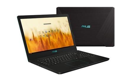 Portátil Asus Vivobook R570, con SSD de 256GB y gráfica GTX1050, en oferta por 459 euros en PcComponentes
