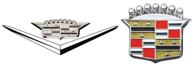 Cadillac Logo 1950 Y 1960