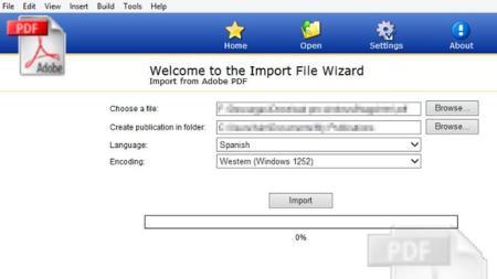 Mobipocket creator, un programa que nos ayuda a hacer una conversión de PDF a Mobi