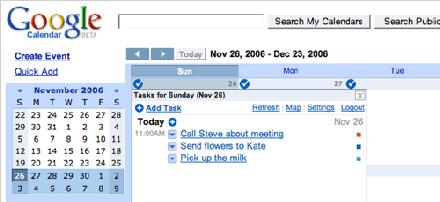 Añade listas de tareas al calendario de Google