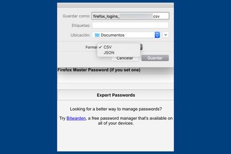 Contrasenas Firefox