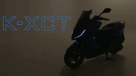 Vídeo teaser del Kymco K-XCT
