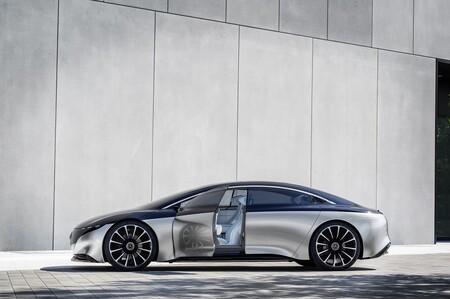 Mercedes-Benz EQS Vision Concept 2019 2