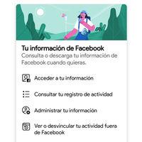 Así puedes ver qué webs y apps comparten datos con Facebook y borrarlos, desde la aplicación