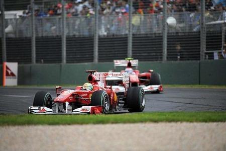 Felipe Massa ha sido el hueso duro y tope de Fernando Alonso en el GP de Australia 2010