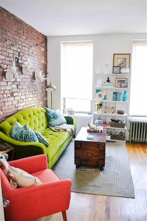 La semana decorativa: disfrutando del verde y otros colores de primavera verano