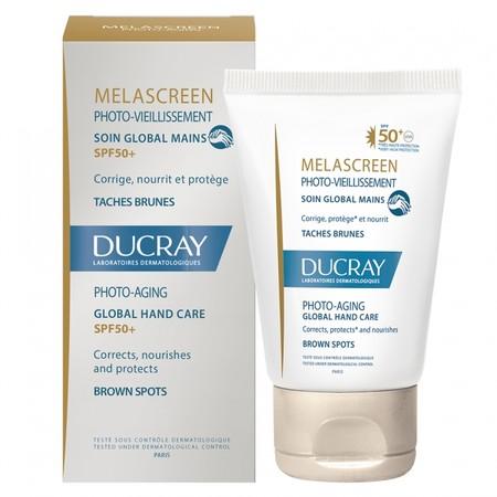 Ducray Melascreen Photo Vieillissement Soin Global Mains Taches Brunes Spf50 50ml