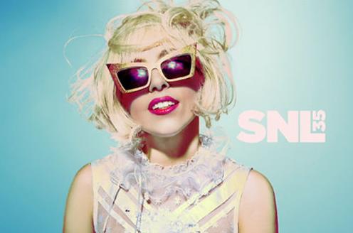Foto de Lady Gaga en SNL (2/3)