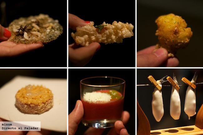 Degustación restaurante calima