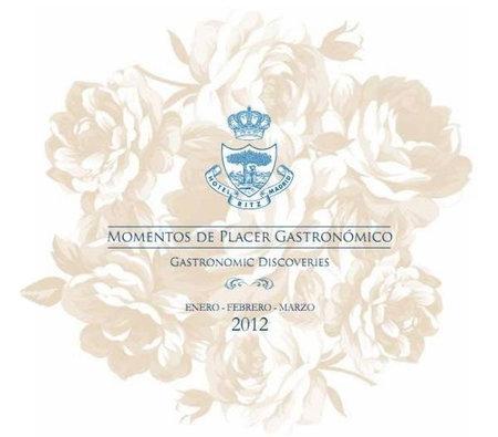 Nuevo programa gastronómico del Hotel Ritz Madrid