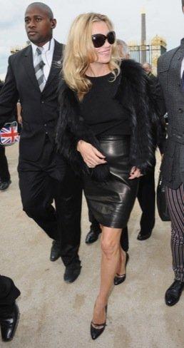 Semana de la Moda de París Kate moss