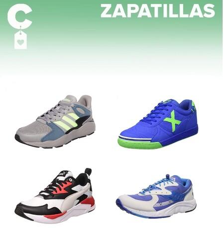 Chollos en tallas sueltas de zapatillas Adidas, Nike, Saucony o Munich en Amazon