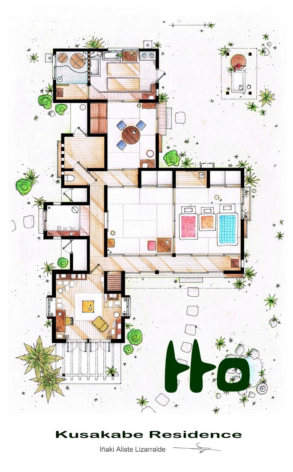 Foto de Planos de apartamentos de series de TV (9/17)