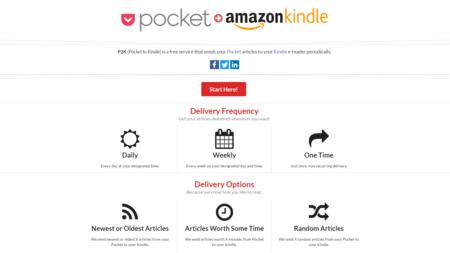 Así es Pocket to Kindle, una nueva aplicación para automatizar el envío de archivos a tu Kindle