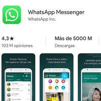 WhatsApp supera los 5.000 millones de descargas, siendo la segunda app que no es de Google en conseguirlo