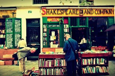 Rincones de París: La librería Shakespeare & Company