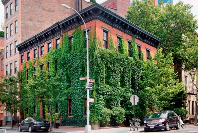 La casa de Annie Leibovitz por fuera