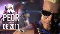 Peor juego de 2011 según los lectores de VidaExtra: 'Duke Nukem Forever'