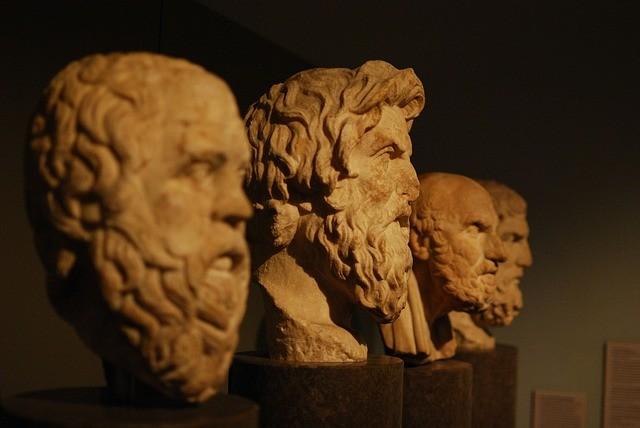 Filósofos griegos.