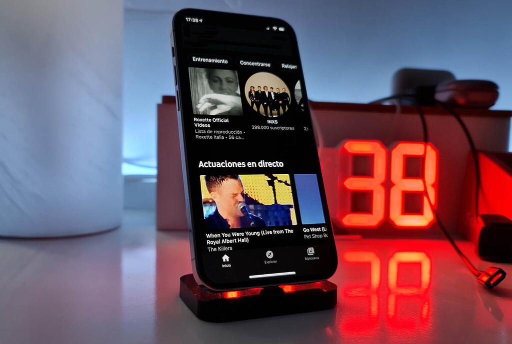 YouTube Music ahorita presenta el contenido que te ha gustado en YouTube™ en un reciente apartado