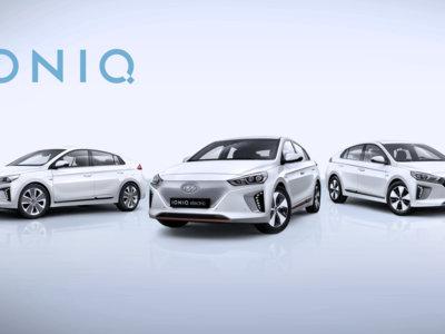 El Hyundai IONIQ ahora con motor híbrido, híbrido enchufable y eléctrico
