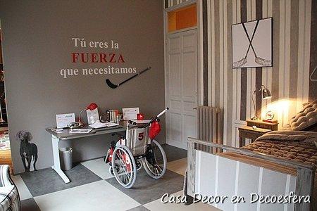Casa Decor Madrid 2010: Habitación Juvenil por Suseta de María para Fundación Isabel Gemio y ASEM