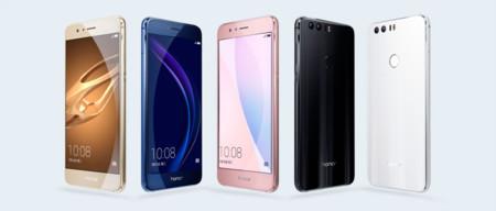La cámara dual y el puerto USB-C llegan a la gama media con el Huawei Honor 8
