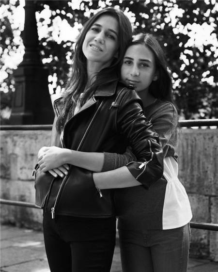 Charlotte Gainsbourg y su hija, protagonistas de la campaña de Comptoir des Cotonniers