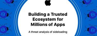 Android tiene hasta 47 veces más malware que iOS por culpa de los APK externos, según un informe de Apple