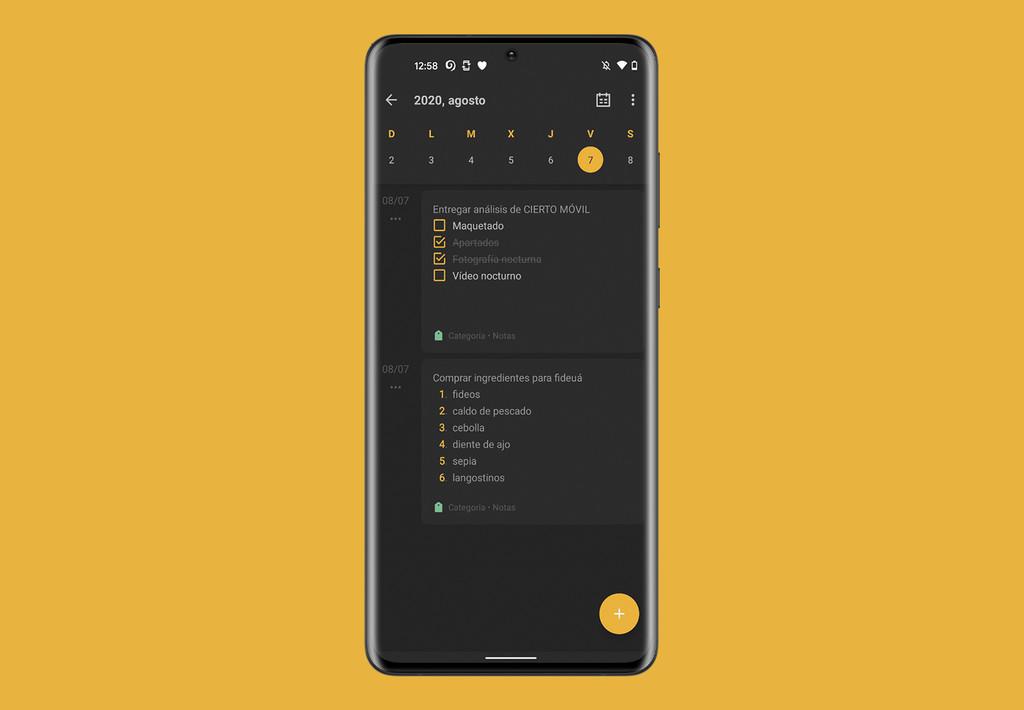 Así es One Jotter, una de las mejores opciones a Google® Keep para Android