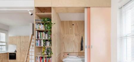 Una casa australiana en la que manda la madera