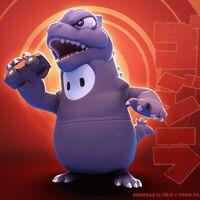 El mismísimo Godzilla se convertirá en noviembre, por un tiempo muy limitado, en uno de los mejores disfraces de Fall Guys