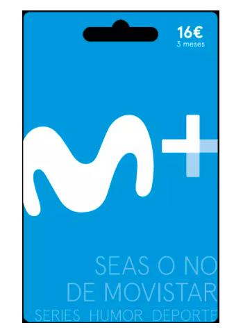 Tarjeta regalo de Movistar Lite - Sólo canjeable en España. Tres meses de suscripción