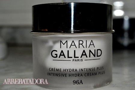 Probamos la Hydra Intense Plus 96A de Maria Galland, una hidratante para pieles deshidratadas