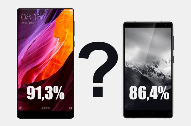Quién tiene mejor porcentaje de pantalla