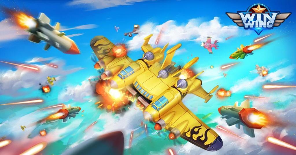 'WinWing' viene a Google® Play: ya está disponible gratis un mas reciente juego de aviones, naves y tiros al diseño 'Space Invaders'