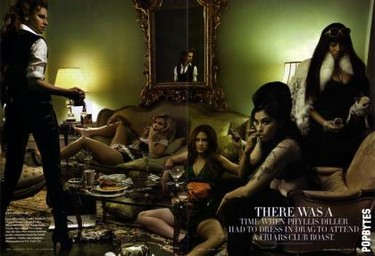 Sarah Silverman es Amy Winehouse