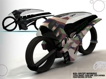 Sleek Speed concepto de moto de carreras