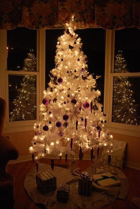 401px White Christmas Tree