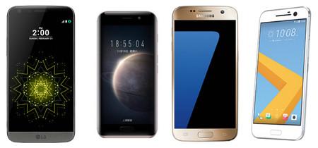 Honor Magic frente a los smartphones con más densidad de píxeles por pulgada del mercado de 2016