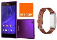 Precios Sony Xperia T3 con Orange y SmartBand en piel de regalo