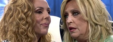 El cara a cara en directo entre Rocío Carrasco y Lydia Lozano, marcado por esta lamentable pregunta de la colaboradora